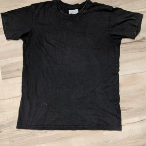 ⚡ Cotton-On Distressed Black T-shirt